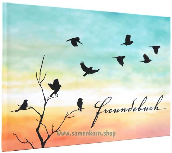 Freundebuch - Vogelschwarm