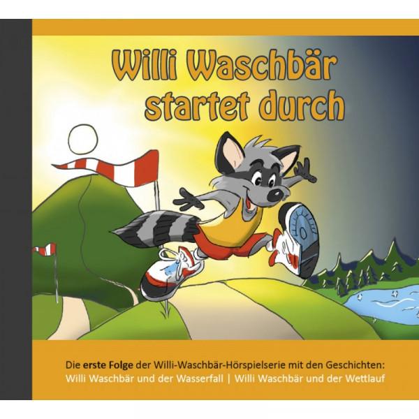 Willi Waschbär startet durch (CD 1) - Hörspiel