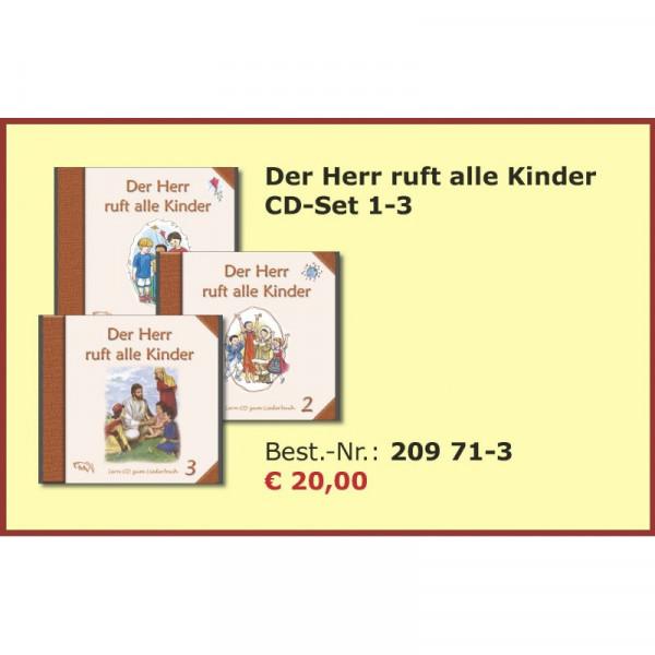 """Set Lern-CDs zum Liederbuch """"Der Herr ruft alle Kinder 1-3"""""""