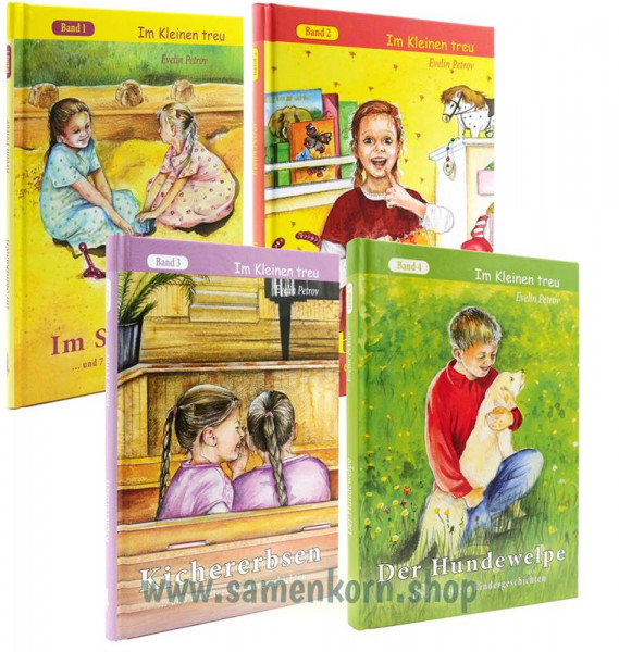 Im Kleinen treu Set 1-4, Petrov - Bücher